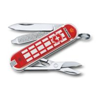 Victorinox Swiss Army Classic SD Trip to London Limited Edition 7-Function Knife