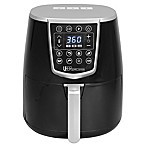 Uber Appliance 4.2 qt. Digital Programmable Air Fryer in Black