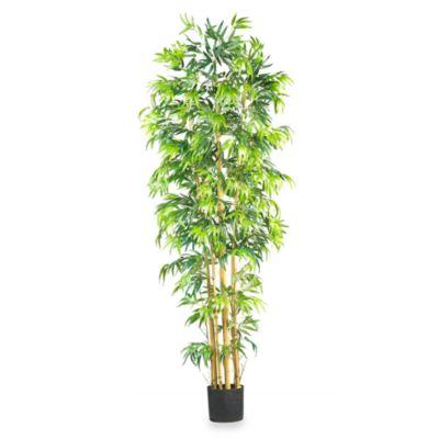 nearly natural 7foot bamboo silk tree - Silk Trees