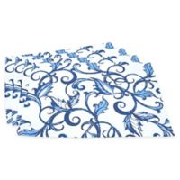 Saro Lifestyle Essence Bleu Placemats (Set of 4)