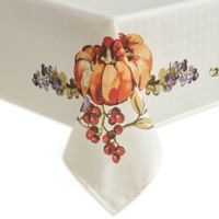 Harvest Table 60-Inch x 84-Inch Oblong Tablecloth