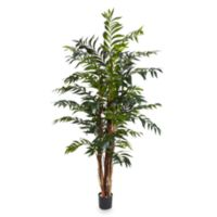 Nearly Natural 5-Foot Bamboo Palm Silk Tree