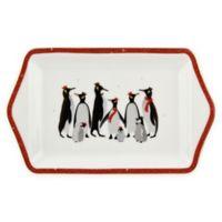 Portmeirion® Red Penguin 12-Inch Dessert Tray