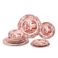 Spode® Cranberry Italian 12-Piece Dinnerware Set