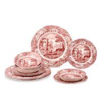 Spode® Cranberry Italian 12-Piece Dinnerware Set