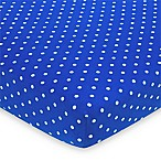 Gerber® Baseball Fitted Jersey Crib Sheet