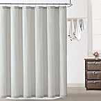 Oceanfront Resort Chambray Coast Shower Curtain in Silver Grey