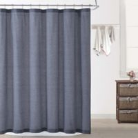 Oceanfront Resort Chambray Coast Shower Curtain in Blue