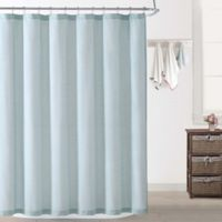 Oceanfront Resort Chambray Coast Shower Curtain in Aqua