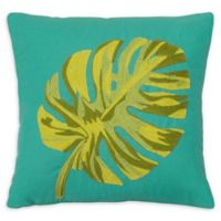 Boho Living Oasis Decorative Pillow in Teal