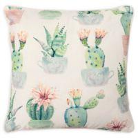 Boho Living Santa Clara Square Throw Pillow