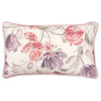 Laura Ashley® Gosling Decorative Pillow in White/Pink