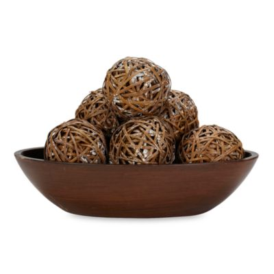 Decorative Bowl With Balls Entrancing Buy Decorative Balls From Bed Bath & Beyond Design Decoration