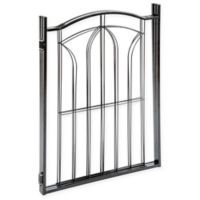 Eastender 3-Section Metal Gate in Black