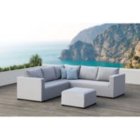 Ego 3-Piece Outdoor Sectional Set in Grey