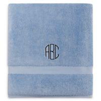 Wamsutta® Personalized 805 Turkish Cotton Bath Sheet in French Blue