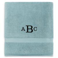 Wamsutta® Personalized 805 Turkish Cotton Bath Sheet in Aqua