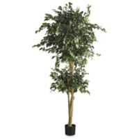 Nearly Natural 6-Foot Silk Double Ball Ficus Tree