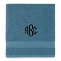 Wamsutta® Personalized Hygro® Duet Bath Towel in Teal