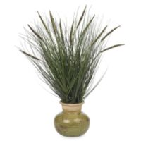 Nearly Natural Silk Grass Plant With Mini Cattails