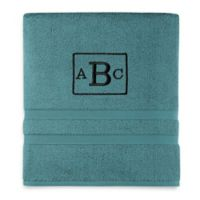 Wamsutta® Personalized Ultra Soft MICRO COTTON Bath Towel in Teal
