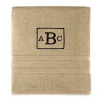 Wamsutta® Personalized Ultra Soft MICRO COTTON Bath Towel in Straw