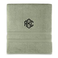 Wamsutta® Personalized Ultra Soft MICRO COTTON Bath Towel in Sage