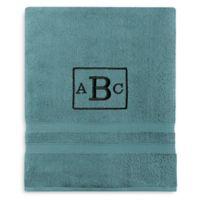 Wamsutta® Personalized Ultra Soft MICRO COTTON Bath Sheet in Teal