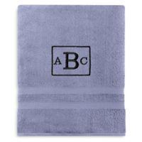 Wamsutta® Personalized Ultra Soft MICRO COTTON Bath Sheet in Cornflower