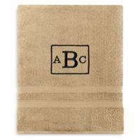 Wamsutta® Personalized Ultra Soft MICRO COTTON Bath Sheet in Straw