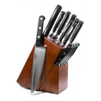 Lamson® Earth Forged 16-Piece Walnut Knife Block Set in Black