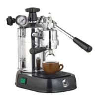 La Pavoni® Professional 16-Cup Espresso/Cappucino Machine in Chrome/Black