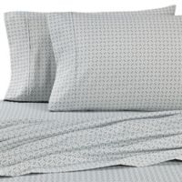 Micro Lush Microfiber Ornamental California King Sheet Set in Sage