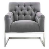 Armen Living® Emily Chair in Grey