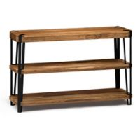 Alterre Ryegate Live Edge Wood and Metal Console Table