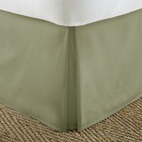 Home Collection Pleated King Bed Skirt in Sage