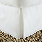 Home Collection Pleated Twin XL Bed Skirt in White