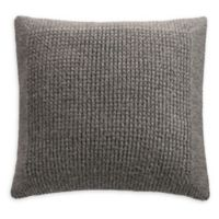 Courtney Square Throw Pillow in Grey