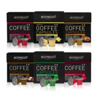 BESTPRESS0 120-Count Variety Pack Espresso/Coffee Capsules