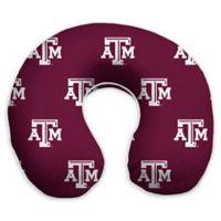 Texas A&M University Memory Foam U-Shaped Neck Travel Pillow