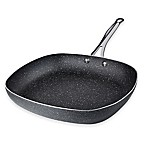 Granite Rock™ Titanium Nonstick Aluminum 12-Inch Square Fry Pan in Black