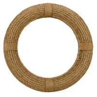 Jamie Young 37-Inch Round Rope Wall Mirror