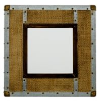 Jamie Young Easton 24-Inch Square Beveled Wall Mirror