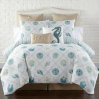 Levtex Home Seaglass Twin Duvet Cover Set in Blue/Green