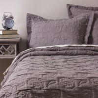 Amity Home Erinn Queen Coverlet in Grey