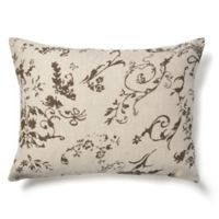 Amity Home Leona Standard Pillow Sham in Charcoal Brown