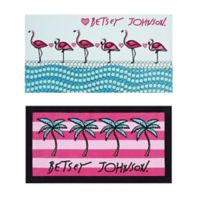 Betsey Johnson® Flamingo Beach Towels (Set of 2)