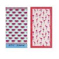 Betsey Johnson® Watermelon Beach Towels (Set of 2)