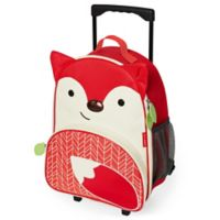 Skip Hop Zoo Fox Children's 16-Inch Rolling Upright Suitcase