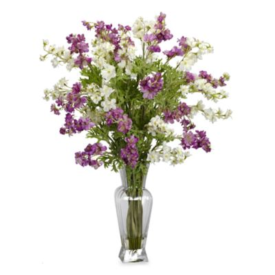 Buy silk flowers from bed bath beyond nearly natural dancing daisy silk flower arrangement mightylinksfo